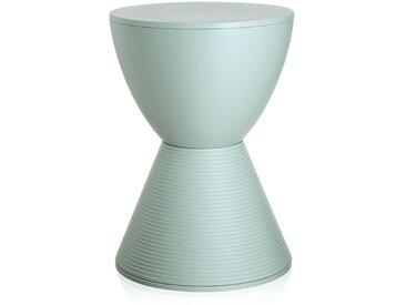 KARTELL tabouret table basse PRINCE AHA (Vert fenouil - Polypropylène coloré dans la masse)