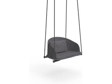 TALENTI balançoire avec cordes d'extérieur CLEO TEAK Collection Icon (Dark grey - Tissu)