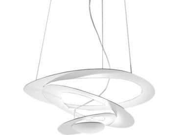 ARTEMIDE lampe à suspension PIRCE MICRO LED (blanc 3000K - Aluminium)