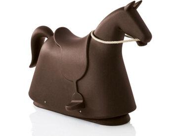 MAGIS cheval à bascule pour enfants ROCKY (Marron - Polyéthylène)