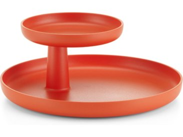 VITRA plateau ROTARY TRAY (Rouge coquelicot - Matériel synthétique ASA)