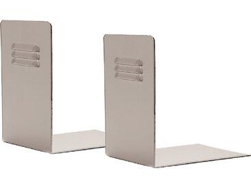 KRIPTONITE paire de serre-livres 23DA37 (Anodisé - Aluminium)