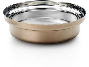 KNINDUSTRIE casserole FOODWEAR Ø cm 30 (Bronze - acier inox 18/10)