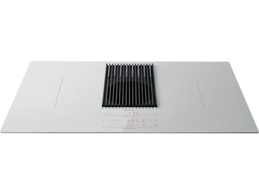 ELICA plaque à induction avec la balance et hotte version recyclage NIKOLATESLA LIBRA PRF0147775 (Blanc - Verre)