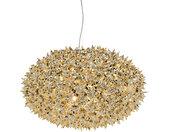 KARTELL lampe à suspension BLOOM NEW MÉTALLISÉS PRECIOUS COLLECTION (Ø 53 cm Or - Technopolymère thermoplastique coloré dans la masse)