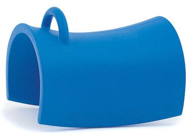 MAGIS chaise ou cheval à bascule pour enfants TRIOLI (Bleu - Polyéthylène)
