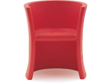 MAGIS chaise ou cheval à bascule pour enfants TRIOLI (Rouge - Polyéthylène)