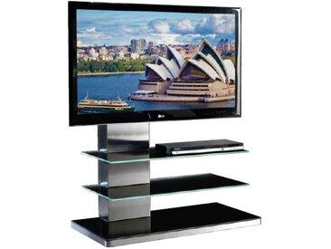 MUNARI meuble avec LED pour TV SYDNEY SY 342 SY342NE (Noir - Verre)