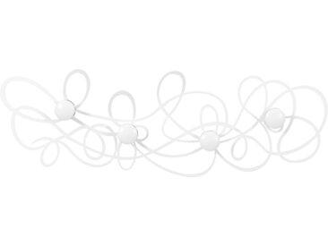 ARTI E MESTIERI portemanteau mural DOODLE (Blanc - Métal)