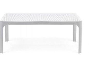 NARDI table basse pour extérieur NET (Blanc - Polypropylène PRV)