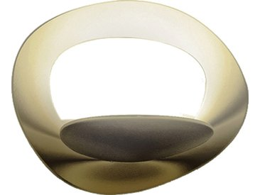 ARTEMIDE lampe murale applique PIRCE MICRO LED (Gold 3000K - Aluminium)