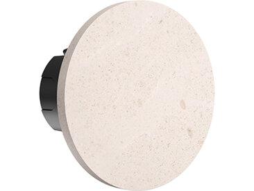 FLOS OUTDOOR lampe murale applique pour extérieur CAMOUFLAGE 140 2700K (Pierre crème d'orcia - aluminium et polycarbonate)