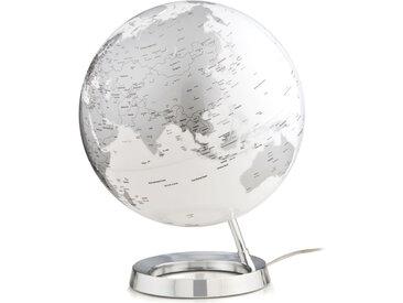 ATMOSPHERE lampe de bureau mappemonde LIGHT & COLOUR BRIGHT (Chrome - PMMA)