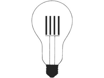 INGO MAURER ampoule 7619992 LED 10W 2700K 910lm E27 dimmable