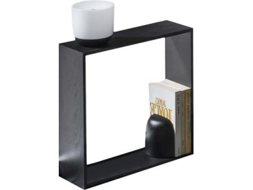 FLOS lampe de table avec serre-livres GAKU WIRELESS NOIR