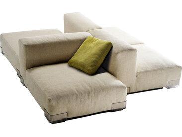 KARTELL Sofa Plastics Duo - Composition 6 (Gris tourterelle - polycarbonate, Coton, Viscose, Lin, Soie)
