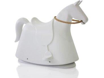MAGIS cheval à bascule pour enfants ROCKY (Blanc - Polyéthylène)