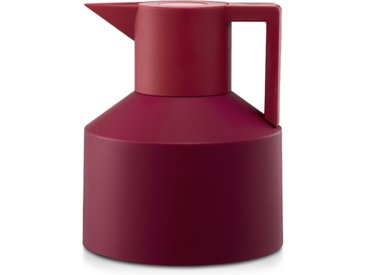NORMANN COPENHAGEN carafe thermique GEO (Rouge / Bordeaux - Thermoplastique)
