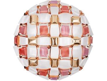 SLAMP lampe murale applique ou lampe de plafond plafonnier MIDA LARGE (Rose - Lentiflex® / Opalflex®)
