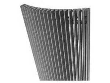 Jaga Iguana Arco Radiateur design 200x51cm 1858watt aluminium gris ARPW200051001MM