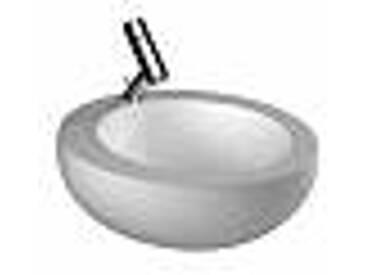 Laufen Alessi One Vasque à poser avec accrochage 52x52cm avec Laufen clean coating et trou pour robinetterie avec clou blanc 8189714001041
