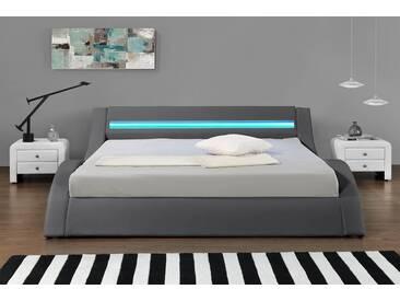 Lit Design LED gris-160 x 200 (cm)