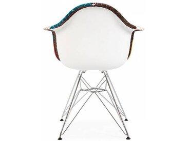 Famous Design Chaise DAR rembourrée - Patchwork