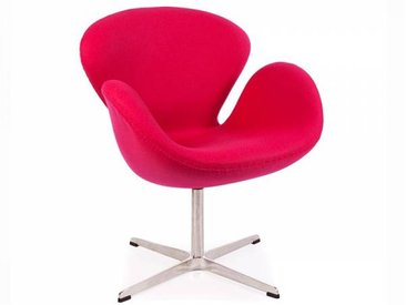 Famous Design Chaise Swan Arne Jacobsen - Rose