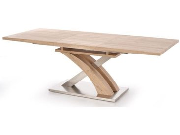 Table à manger chêne sonoma Lado