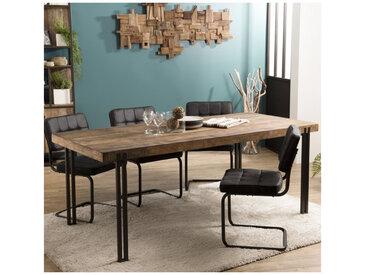 Table à manger design industriel 200x90cm Tinesixe