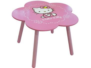 Table enfant rose fleur HELLO KITTY