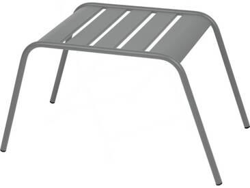 Repose pieds / table basse FERMOB empilable acier MONCEAU