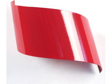 Applique murale design en métal rouge VIRA