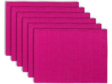 Set de table PVC rose 33x45 (Lot de 6) CANNA