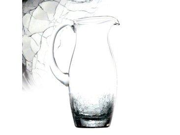 Pichet en verre soufflé 27cm 1.5L CRACKY
