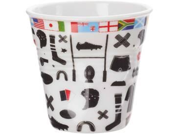 Gobelet en porcelaine motif rugby FROISSES
