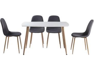 Ensemble de table salle à manger et 4 chaises JULIETA
