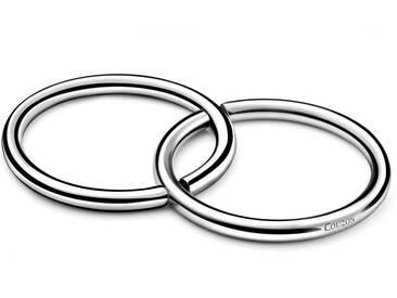 Dessous de plat anneaux en inox DUO