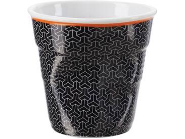 Gobelet en porcelaine à motif noir FROISSES