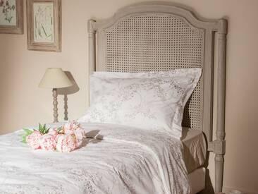 Tête de lit en bois et rotin L90cm RAMBRANDT