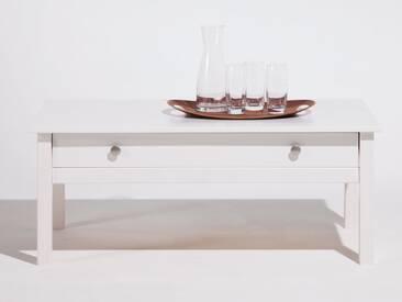 Table basse en bois massif 1 tiroir BERNA