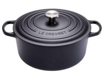 Le Creuset Cocotte ronde Le Creuset Signature noire diam 28 cm