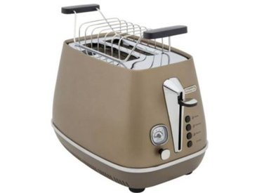 Delonghi Grille-pain Delonghi DISTINCTA CTI2103.BZ Future Bronze