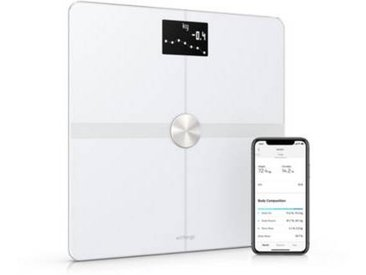 Withings Pèse personne connecté Withings /NOKIA Body plus blanc