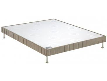 Sommier Bultex Confort ferme Marron glacé chiné 140x190