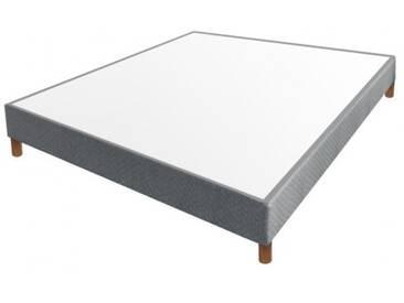Sommier Essenzia Multiensachés grand confort gris 140x200