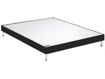 Sommier Bultex Confort ferme Black style cuir 160x190