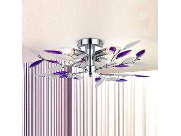 Magnifique Plafonnier GIULIETTA à 4 lampes