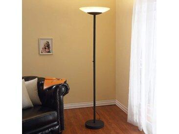 Lampadaire LED Ragna de couleur rouille– LAMPENWELT.com