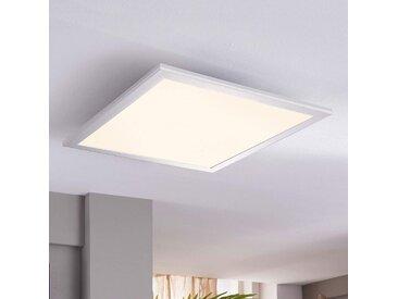 Plafonnier LED carré Liv, 28 W– LAMPENWELT.com